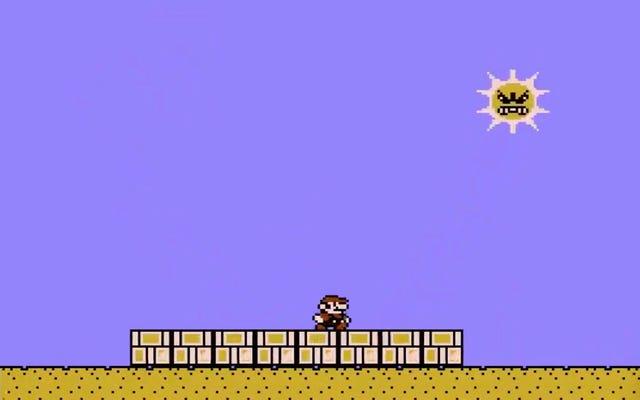 Le soleil en colère de Super Mario Bros.3 m'a donné de l'anxiété