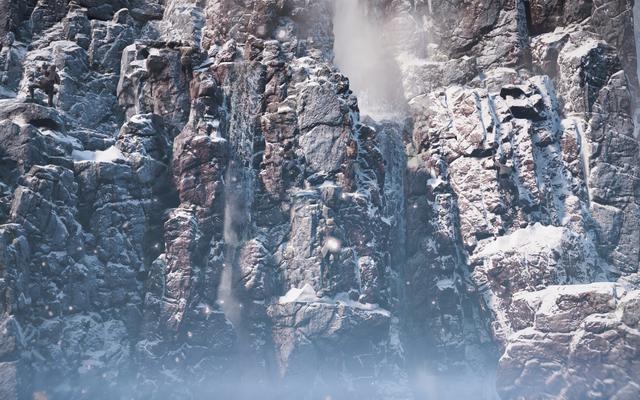 Je suis très impressionné par les roches 4K