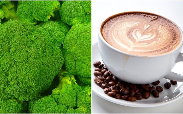 Kimse yeterince sebze yemiyor, bu yüzden artık brokoli kahve var