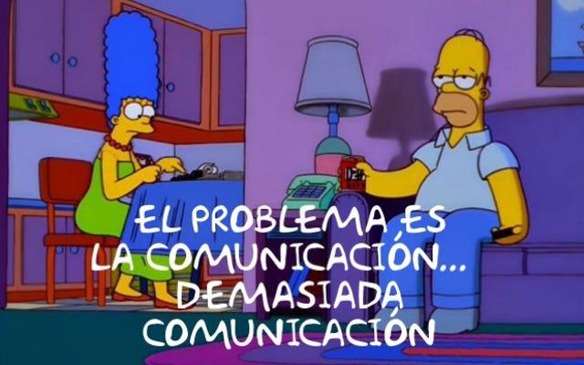 Mesin pencari ini menemukan bingkai The Simpsons dan mengubahnya menjadi meme