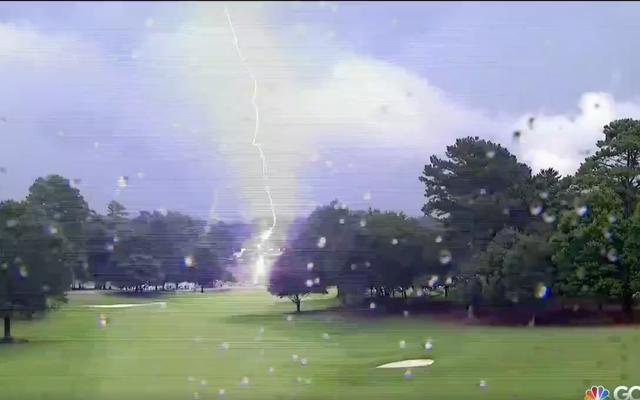 PGAツアーチャンピオンシップでの落雷により6人の観客が負傷