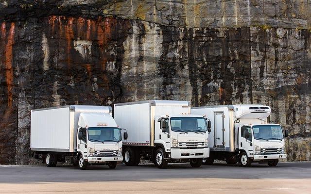 いすゞがホンダと提携し、水素トラックを開発