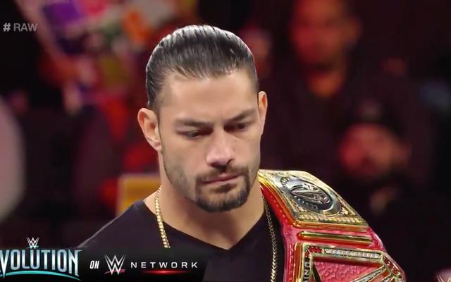 Roman Reigns ประกาศการวินิจฉัยโรคมะเร็งเม็ดเลือดขาวใน WWE Raw ยกเลิกการแข่งขัน Universal Championship