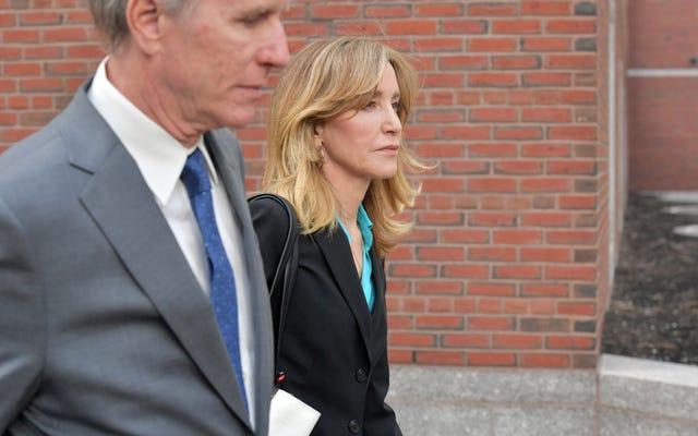 Felicity Huffman, Üniversiteye Kabul Dolandırıcılığından Suçlu Olduğunu Kabul Edecek, 4-10 Ay Hapis