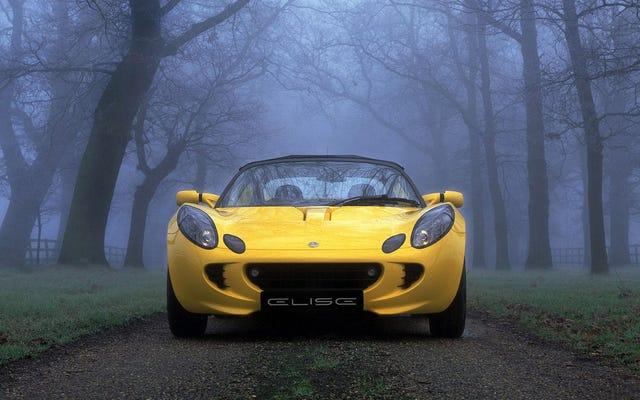 Boas notícias: o Lotus Elise existe