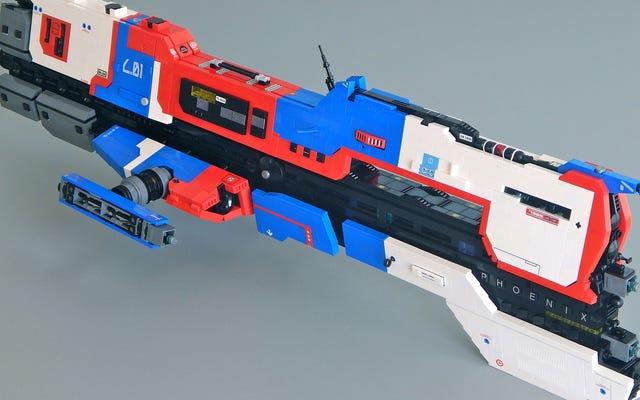 LEGO Homeworld Ships là tác phẩm nghệ thuật