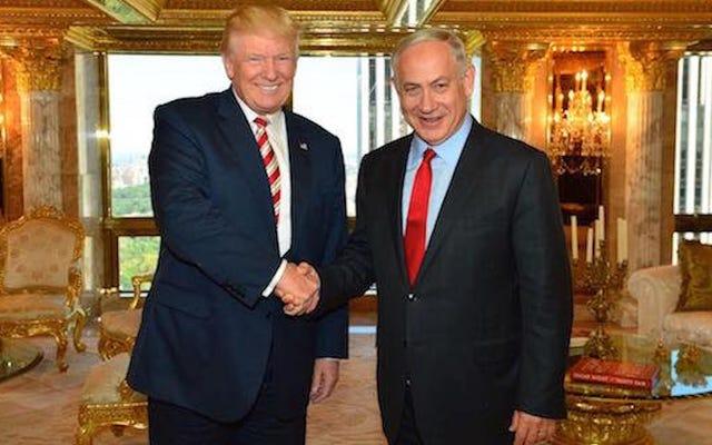 Donald Trump spotyka się z Benjaminem Netanjahu, nazywa Jerozolimę stolicą Izraela