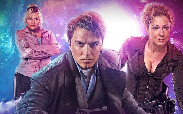 River Song và Thuyền trưởng Jack hợp tác cho Doctor Who Audio Adventure