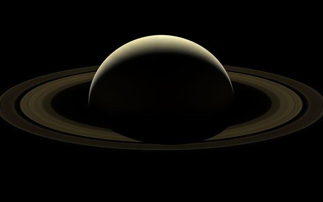 Cassini Swan Song Image of Saturn Left Me Speechless