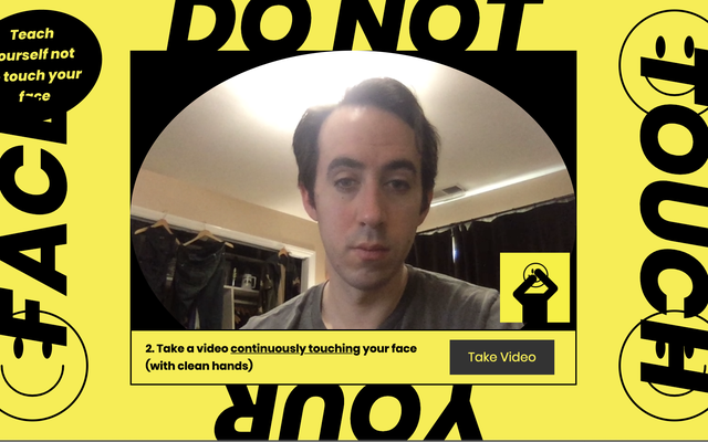 Используйте этот веб-сайт, чтобы перестать трогать свое проклятое лицо руками с вирусом