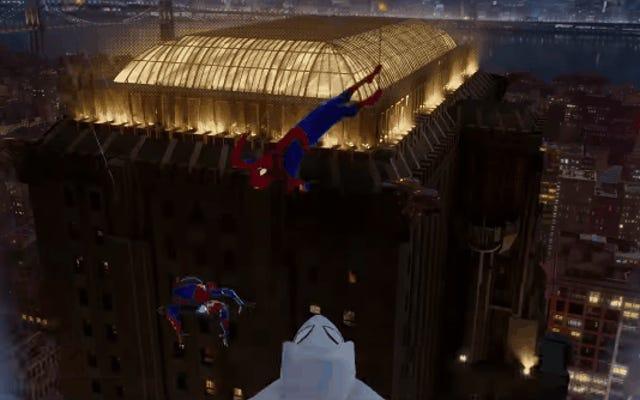 Spider-Man: Into the Spider-Verse obtiene un magnífico video musical repleto de nuevas imágenes
