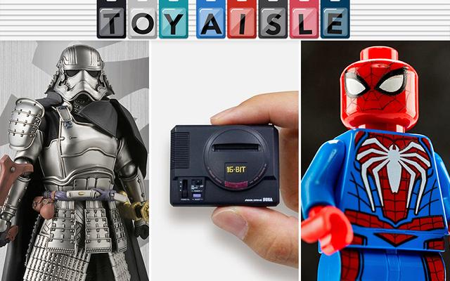 サムライキャプテンファズマとレゴPS4スパイダーマンでさえこの小さなセガジェネシスと競争することはできません