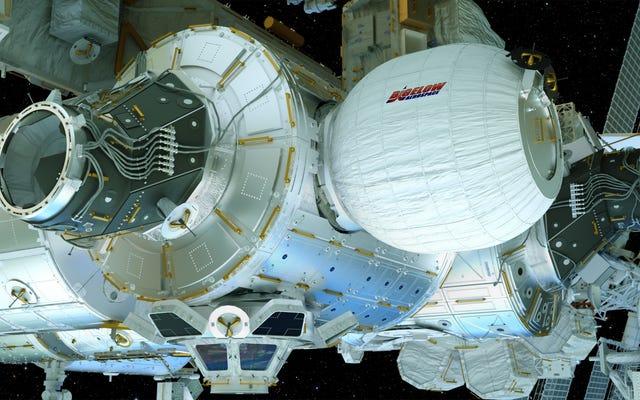 ISSの乗組員が新しい宇宙の家を膨らませるのを見る[更新]