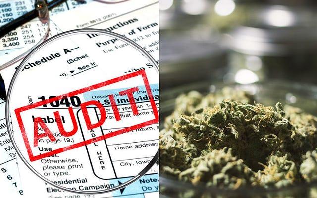 Un agent de l'IRS aurait obligé le propriétaire du magasin de mauvaises herbes à payer ses prêts étudiants en échange d'un audit facile