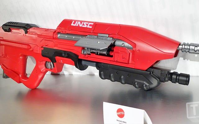 マスターチーフの象徴的なUNSCMA5ハローライフルがBOOMcoダーツブラスターになりました
