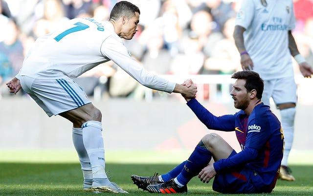 Une vidéo choquante révèle que Ronaldo et Messi ont des personnalités différentes