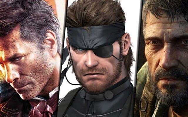 陰気な白人男性のビデオゲームの主人公、ランク付け