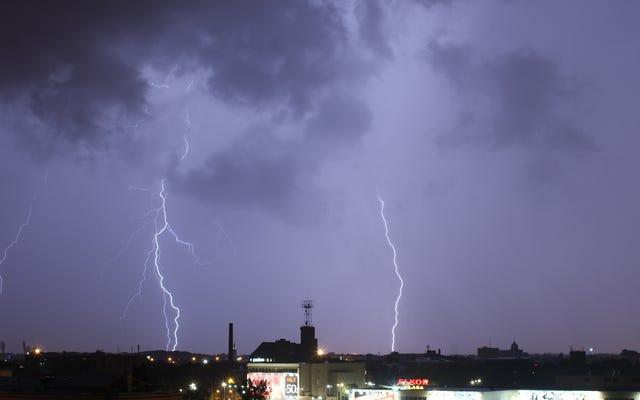 ボートの排気がより多くの雷を引き起こしている可能性があります