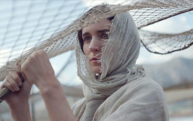 Rooney Mara est Marie-Madeleine et Joaquin Phoenix est le Christ dans un sacré alésage d'un drame biblique