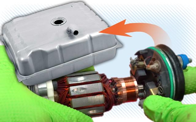 La pompe qui maintient votre injection de carburant alimentée est refroidie par liquide