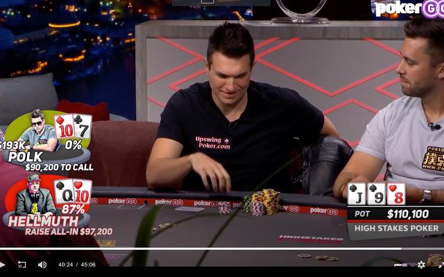 LIHAT ITU: Lipatan absurd Doug Polk vs.Phil Hellmuth mungkin yang 'terhebat' di Poker Taruhan Tinggi