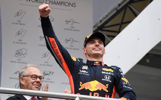 フェルスタッペンはベッテルがドイツGPで見事なカムバックを果たしている間、彼は未来であることを再確認します