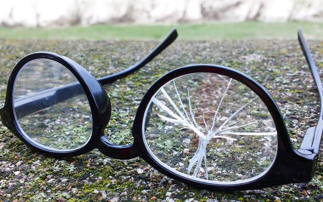 必然的にメガネを壊したときのために準備してください
