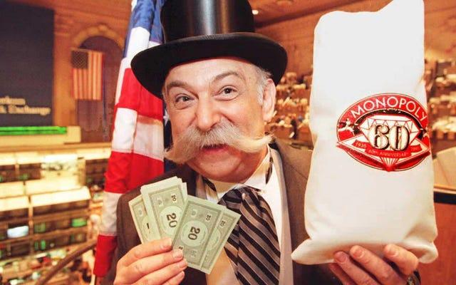 ハスブロの最新の奇妙な政治的スイング:男女賃金格差に対処するモノポリーさんのゲーム