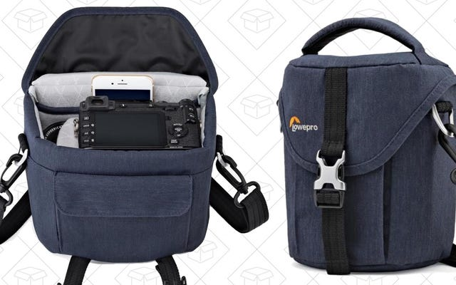 इन रियायती लोवेप्रो कैमरा बैग के साथ हिप से शूट करें