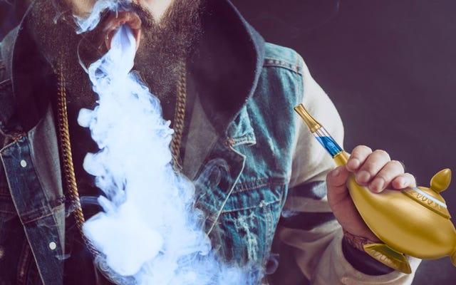 Vous avez toujours voulu fumer un génie? Votre souhait est devenu réalité avec cette lampe Vape d'Aladdin