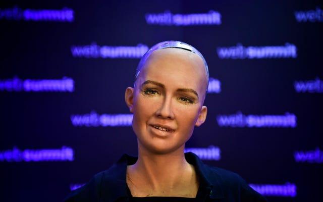 私よりはるかに成功しているロボットのソフィア、おめでとうございます