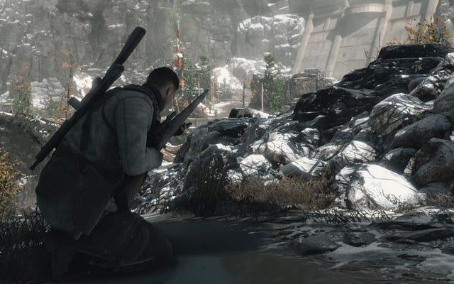 La campaña de Sniper Elite 4 es perfecta para el tirador paciente
