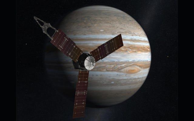 NASA의 목성 임무는 지구의 기원 이야기를 알려줄 것입니다