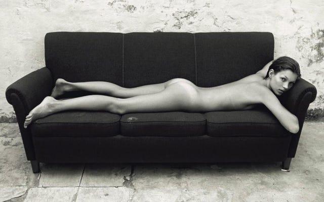ケイト・モスがカルバン・クラインの広告について語る、地獄のようにかっこいい