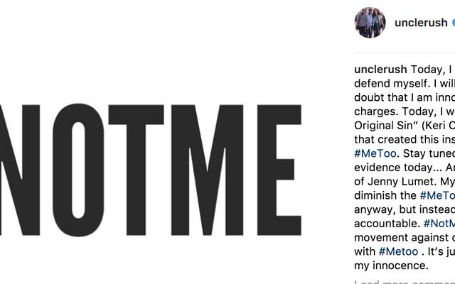 ラッセル・シモンズが#MeTooを#NotMeで転用し、レイプの告発から身を守る、Twitterを削除