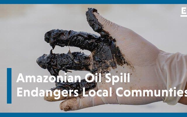 油流出とコロナウイルスがエクアドルのアマゾンで危機を引き起こしている