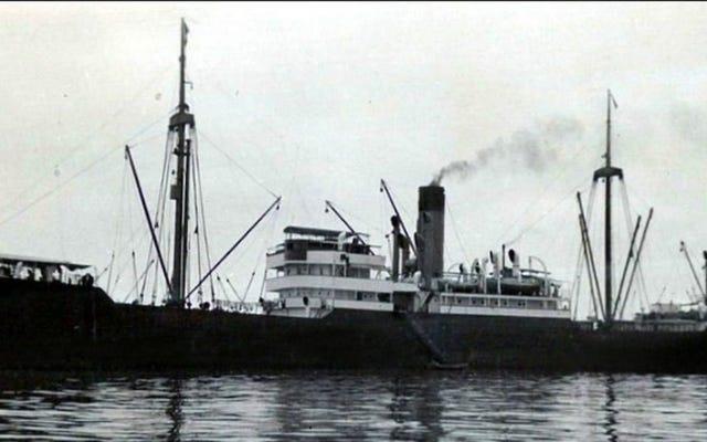 第二次世界大戦で沈没したナチスの船で見つかった4トンの金