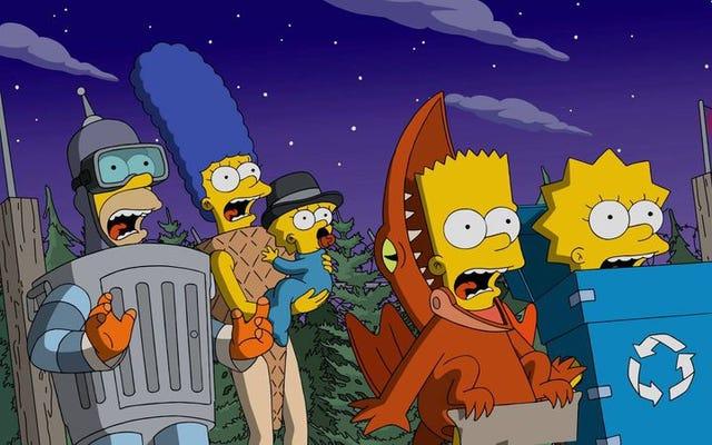 Приветствую жуткое сексуальное столетие Симпсонов