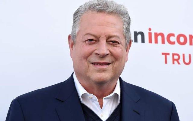 アル・ゴアがトランプを爆破し、不都合な真実の続編を改訂してパリのプルアウトを含める