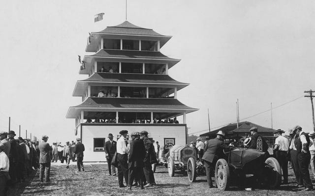 ब्राउन बुलेट एक अनुस्मारक है जो रेसिंग के इतिहास को हमेशा अलग किया गया है