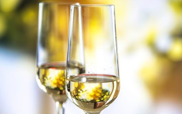 感謝祭に必要なワインはシャンパンだけです