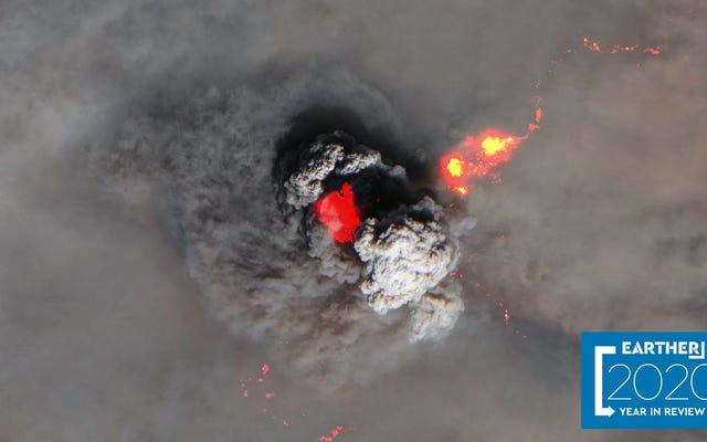 今年、地球は宇宙から地獄のように見えました