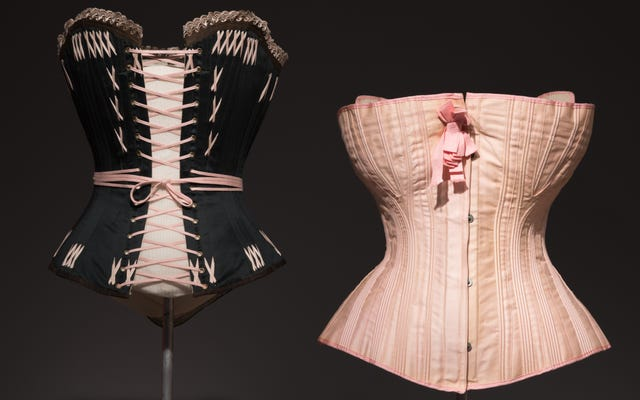Корсеты для беременных и винтажная «толстая одежда»: 250 лет моды и тела