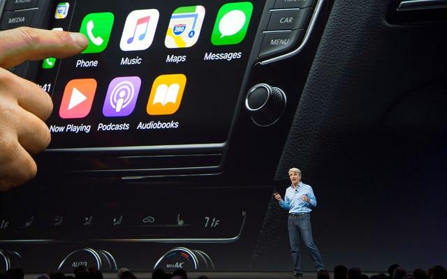 Vaya, seguro que hay muchas noticias sobre Apple Car ahora mismo