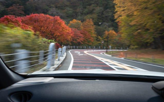 W największym mieście Japonii kryje się kręta górska droga