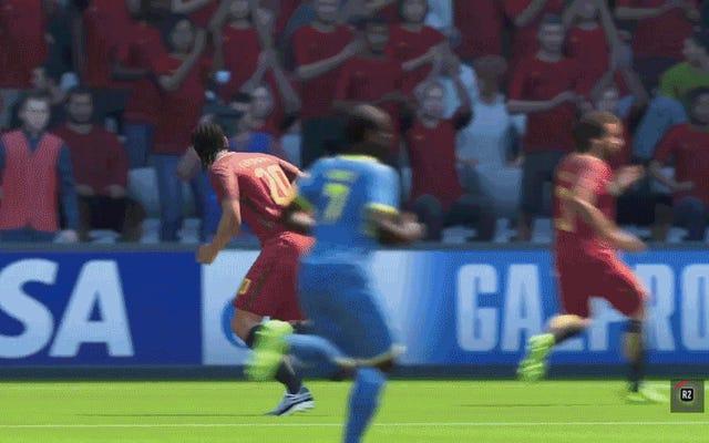 El jugador de la FIFA sufre una serie de eventos desafortunados