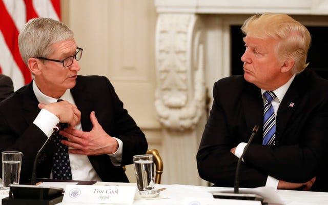 トランプは予想通りAppleを関税で裏切っている
