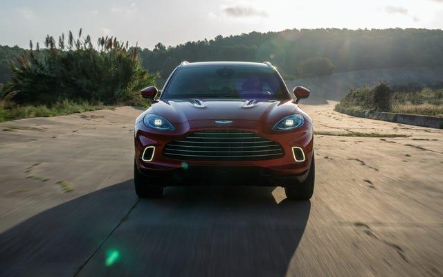 Aston Martin ne se sent pas si bien, pourrait être soulagée par Geely
