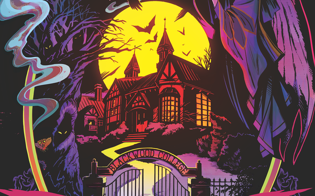 Dark Horse открывает набор в колледж ужасов в этом эксклюзиве Blackwood