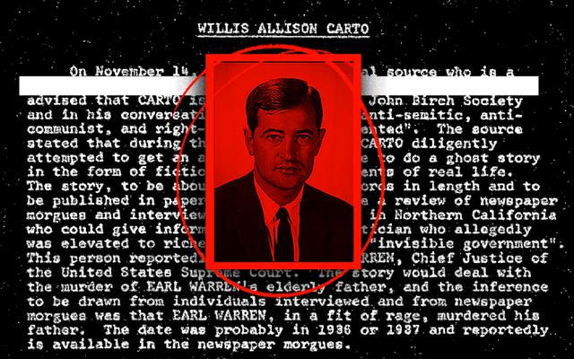Le FBI publie un dossier sur Willis Carto, néo-nazi récemment enterré à Arlington